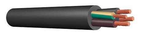 Силовые кабели с резиновой изоляцией